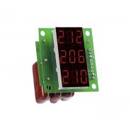 Вольтметр цифровой перем. тока трехфазный 100-400В V-protektor