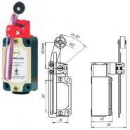 Выключатель концевой Промфактор ВП 15М 4233 рычаг поворотный регулятор по высоте с роликом IP54