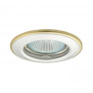 Светильник  точечный Kanlux 2822 HORN CTC-3114-PS/G перламутрово-серебряный/золотой