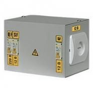 ЯТП 0,25 220/24-3 ИЭК  Ящик с понижающим трансформатором