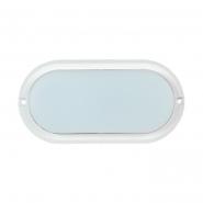 Светильник ДПО4011 белый овал LED 8Вт 4000К IP54 ИЕК