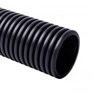 Труба двухстенная д40мм с протяжкой  КОПОФЛЕКС б.50м черная