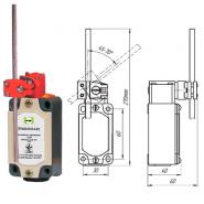 Выключатель концевой Промфактор ВП 15М 4242 рычаг штыревой регулируемый по длине и наклону