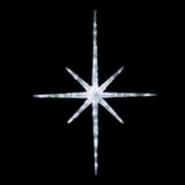 Гирлянда внешняя Delux Hale 120x60cм LED бел/бел IP44
