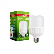 Лампа LED высокомощная Plastic 30W E27 4000K Eurolamp