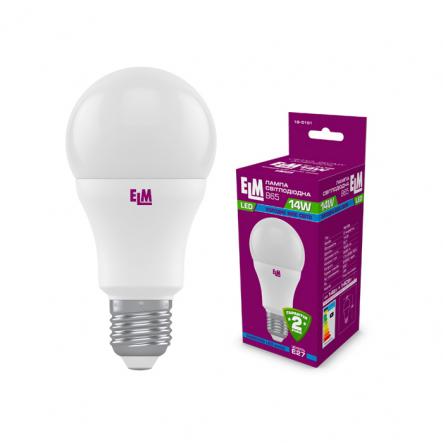 Лампа LED 14W PA10S E27 4000 ELM - 1
