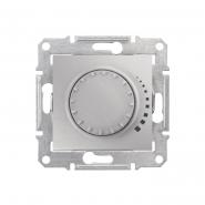 Светорегулятор проходной поворотно-нажимной универсальный алюминий