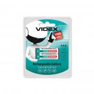 Аккумулятор R03 AAA  1000mA Ni-Mh VIDEX