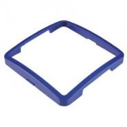 Рамка одинарная горизонтальная синяя DEFNE