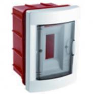 Коробка под автомат VI-KO скрытый 4 модульный с крышкой