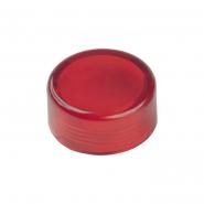 Колпачек сменный IEK для AL-22TE красный сигнальный d22 неон / 240В цилиндр