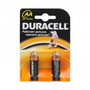 Батарейка Duracell Basic LR6 1.5V алкалиновая  AA/MN1500 KPN