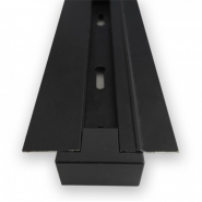 Шинопровод  встраиваимый для трековых светильников черный 2м  CAB1004