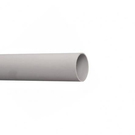 Труба электротехническая жесткая гладкая ПВХ d20 IEK серая - 1