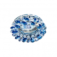 Светильник точечный Feron CD4141  синий хром