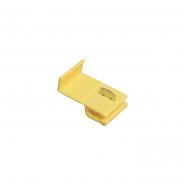 Зажим-ответвитель, прокалывающий ЗПО-1 2,5-6,0 мм2 желтый (25 шт) ИЭК (уп.)