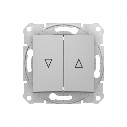 Выключатель для жалюзи с электронной блокировкой Sedna - 1
