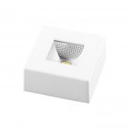 Светильник AL521 COB 5W квадрат, белый 360Lm 4000K 60*30mm