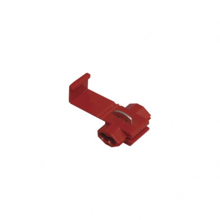 Зажим-ответвитель, прокалывающий ЗПО-1 0,5-1,5 мм2 красный (100 шт) ИЭК - 1