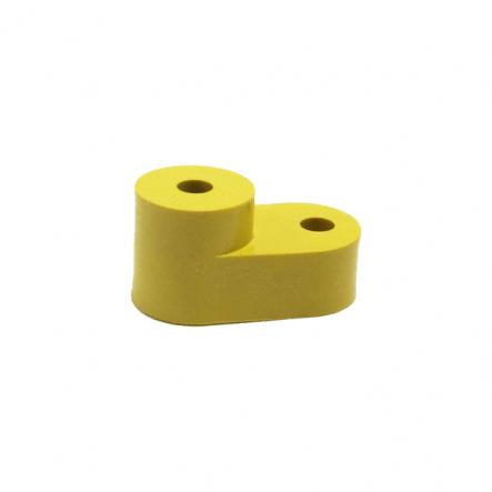 Изолятор угловой для нулевой шины желтый ИЕК - 1