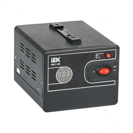Стабилизатор напряжения переносной HUB 2кВА IEK - 1