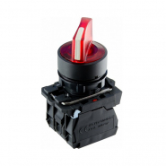 Кнопка красная поворотная 2-х поз. с подсветкой TB5-AK124M5 ACKO-УКРЕМ