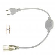 Адаптер питания для LED NEON 8*16mm+коннектор 2pin 220V