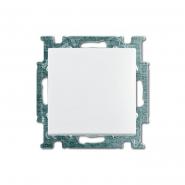 Выключатель одноклавишный встраиваемый ABB Basic 55 белый