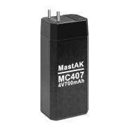Аккумуляторная батарея  4V 0.7AH Mastak