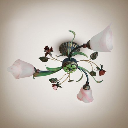 Люстра Цветок Розы, Украина - 1