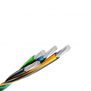 Провода самонесущие с изоляцией из полиэтилена СИП-4т 4х25