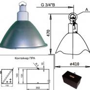 Светильник подвесной НСП 01-500-102