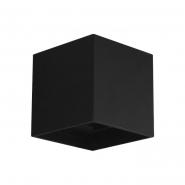 Светильник настенный DH012 COB  2*3W  4000K  IP54 , черный  100*100*100мм