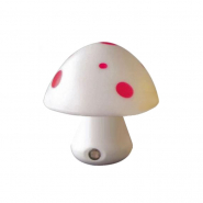 Ночник Lemanso Гриб 3 LED 6500K с сенсором белый