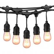 Светильник подвесной для LED 170-265V IP65 15 x E27 10м/ LMA504