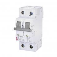 Автоматический выключатель ETI 6 1p+N С 10А (6 kA) 2142514