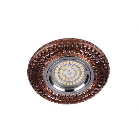 Светильник точечный Feron CD877 MR16 чайный с led подсветкой - 1