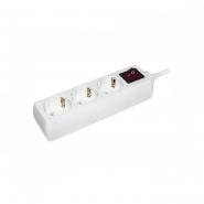 Удлинитель ИЕК  У03К-выкл. 3гн/3м  2р+выкл  3*1мм