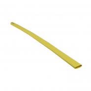Трубка термоусадочная д.12.7 жёлтая с клеевым шаром АСКО