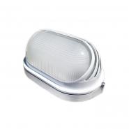 Светильник НПП1207 белый-овал ресничка  100Вт IP54 ИЕК