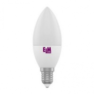 Лампа LED свеча 6W E14 4000K PA10 ELM
