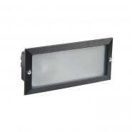 Светильник НПП 3102 60W черн-прямоугольник без решетки металаллический корпус IP54(встраив.)