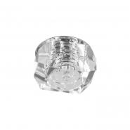 Светильник точечный Feron JD64 G4 20W хром-прозрачный