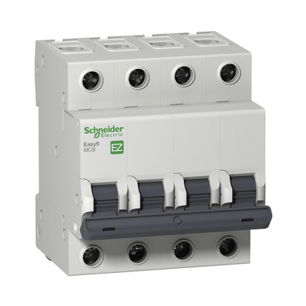 Автоматический выключатель EZ9 4Р 63А С Schneider Electric - 1