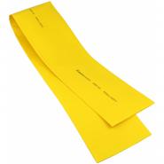 Трубка термоусажеваемая ТУТ 80,0/40,0 желтая ACKO