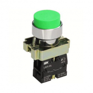 Кнопка управления LAY5-BL31 без подсветки зеленая 1з ИЕК