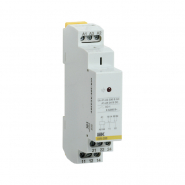 Промежуточное реле IEK OIR 2 конт (8А). 230 В AC  Интерфейсное на Дин рейку OIR-208-AC230V