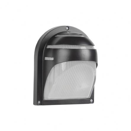 Светильник НПП 2501настенный черный-ресничка 60 Вт металлический корпус IP54 - 1