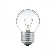 Лампа PHILIPS Р-45  шар Е27  60 W прозрачная