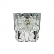Светильник точечный Feron JD183  G9 35W прозрачный  хром